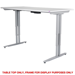 ARISE TABLE TOP ONLY 1600 X 800MM WHITE