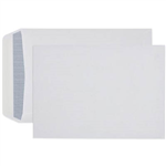 CUMBERLAND C4 ENVELOPES SECRETIVE POCKET PLAINFACE STRIP SEAL 90GSM 324 X 229MM WHITE BOX 250
