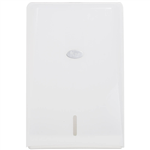 LIVI COMPACT INTERLEAVE TOWEL DISPENSER 350 X 86 X 230MM WHITE