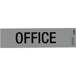 APLI OFFICE SELF ADHESIVE SIGN SILVER