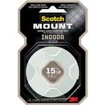 SCOTCH 110P MOUNTING TAPE PERMANENT 13MM X 19M WHITE