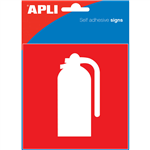 APLI FIRE EXTINGUISHER SIGN SELF ADHESIVE