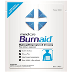 BURNAID GEL DRESSING PAD 550 X 400MM