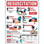 FIRST AIDERS CHOICE CPR WALL CHART