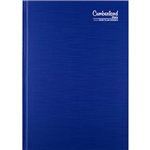 CUMBERLAND 2021 PREMIUM BUSINESS DIARY WEEK TO VIEW 1 HOUR A5 BLUE