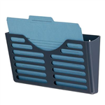 ESSELTE VERTICALMATE FILE POCKET X1 CHARCOAL