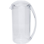 CONNOISSEUR WATER JUG PLASTIC WITH LID 1 LITRE CLEAR