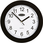 CARVEN WALL CLOCK FRAME 250MM BLACK