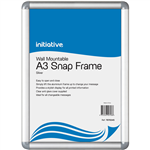 INITIATIVE SNAP FRAME WALL MOUNTABLE A3 SILVER