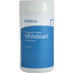 INITIATIVE UNIVERSAL WHITEBOARD CLEANING WIPES TUB 100
