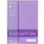COLOURHIDE MY TRUSTY NOTEBOOK 120 PAGE A4 FLUORO Pink