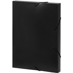 MARBIG DOCUMENT BOX A4 BLACK
