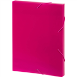 MARBIG DOCUMENT BOX A4 PINK