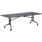 RAPID EDGE FOLDING TABLE 2400 X 1000 X 743MM DRIFTWOOD