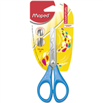 MAPED ESSENTIALS SCISSOR 130MM ASSORTED