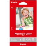 CANON GP701 GLOSSY PHOTO PAPER 4 X 6 INCH WHITE PACK 50