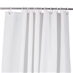 COMPASS SHOWER CURTAIN PEVA WITH RINGS