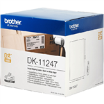 BROTHER DK11247 LABEL ROLL 103 X 164MM WHITE ROLL 180