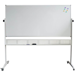 RAPIDLINE STANDARD MOBILE MAGNETIC WHITEBOARD 1500 X 1200 X 15MM