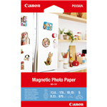 CANON MG101 MAGNETIC PHOTO PAPER 670GSM 4 X 6 INCH WHITE PACK 5