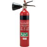 BRADY FIRE EXTINGUISHER CO2 DRY CHEMICAL 2KG