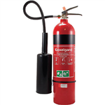 BRADY FIRE EXTINGUISHER CO2 DRY CHEMICAL 5KG