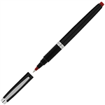 ARTLINE SIGNATURE ONYX ROLLERBALL PEN 07MM RED