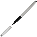 ARTLINE SIGNATURE SILVER ROLLERBALL PEN 07MM BLACK