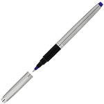 ARTLINE SIGNATURE SILVER ROLLERBALL PEN 07MM BLUE