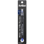 ARTLINE SIGNATURE ROLLERBALL PEN 07MM REFILL BLUE