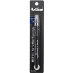 ARTLINE SIGNATURE ROLLERBALL PEN 07MM REFILL BLACK