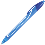 BIC GELOCITY RETRACTABLE QUICK DRY GEL PEN MEDIUM 07MM BLUE