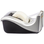 SCOTCH C60ST DESKTOP TAPE DISPENSER SILVERTECH SILVERBLACK