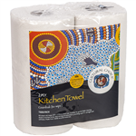 CULTURAL CHOICE KITCHEN TOWEL 2PLY TWIN PACK