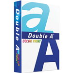 DOUBLE A COLOUR PRINT A4 COPY PAPER 90GSM WHITE PACK 500 SHEETS