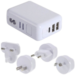 JACKSON PTA7723 WORLDWIDE TRAVEL USB CHARGER WHITE