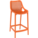 AIR BARSTOOL 65 INCH ORANGE