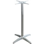 ASTORIA TABLE BASE TWIN WEIGHTED ALUMINIUM