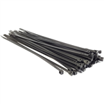 ADAPTEX CABLE TIES 150MM X 36MM BLACK PACK 100