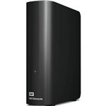 WESTERN DIGITAL WD ELEMENTS DESKTOP 35 INCH EXTERNAL HARD DRIVE 6TB BLACK
