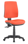ALPHA 2 LEVER TASK CHAIR MEDIUM BACK LOCALLY UPHOLSTERED