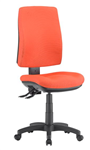 ALPHA 2 LEVER TASK CHAIR HIGH BACK LOCALLY UPHOLSTERED