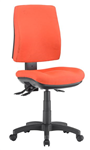 ALPHA 3 LEVER TASK CHAIR MEDIUM BACK LOCALLY UPHOLSTERED