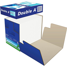 DOUBLE A A4 SMOOTHER COPY PAPER CLEVER BOX 80GSM WHITE BOX 2500 SHEETS