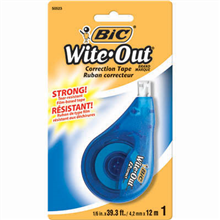 BIC WITE-OUT CORRECTION TAPE 12M