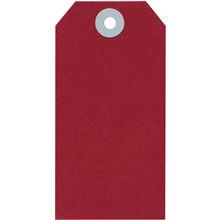 AVERY 15110 SHIPPING TAG SIZE 5 120 X 60MM RED BOX 1000