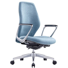 ASSIST EXECUTIVE MID-BACK SEAT WITH ARMS SYNCHRO MECHANISM *LOCALLY UPHOLSTERED*