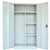 GO SWING DOOR CUPBOARD WARDROBE SILVER GREY